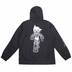 BAIT x Astro Boy Men Mighty Atom 7 Powers Anorak Jacket (black)