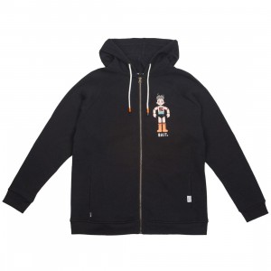 BAIT x Astro Boy Men 7 Special Powers Zip Hoody (black)