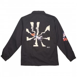 BAIT x Astroboy Men Beep Beep Coaches Jacket (black)