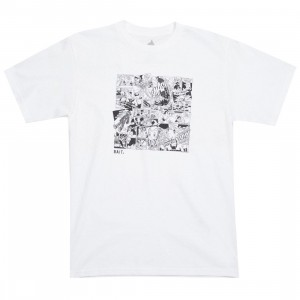 BAIT x Astro Boy Men Manga Tee (white)
