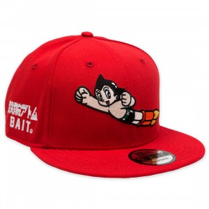BAIT x Astro Boy x New Era Launch Snapback Cap (red)