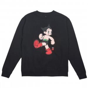 BAIT x Astro Boy Men Vintage Crewneck Sweater (black)