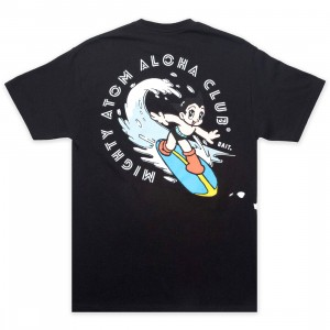 BAIT x Astro Boy Men Aloha Surf Tee (black)