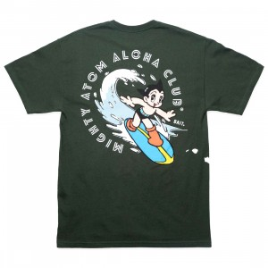 BAIT x Astro Boy Men Aloha Surf Tee (green)