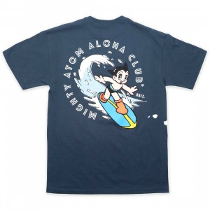 BAIT x Astro Boy Men Aloha Surf Tee (navy)