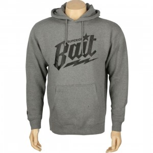 BAIT Superior BAIT Hoody (gunmetal heather / black)