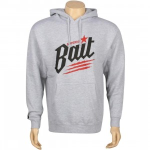 BAIT Superior BAIT Dragon Hoody (grey heather / black / red)