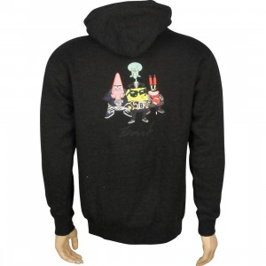 BAIT x SpongeBob Group Pullover Hoody (charcoal)