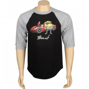 BAIT x SpongeBob SpongeBob SquarePants Raglan Tee (black / heather)