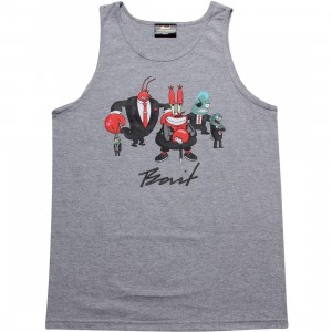 BAIT x SpongeBob Mr Krabs Tank Top (athletic heather)
