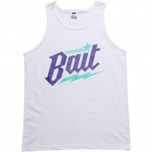 BAIT Superior BAIT Tank Top - Grape (white / purple / teal)