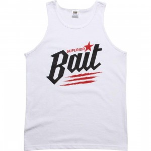 BAIT Superior BAIT Dragon Tank Top (white / black / red)