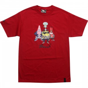 BAIT x SpongeBob Group Tee (cardinal red)
