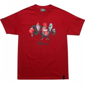 BAIT x SpongeBob Mr Krabs Tee (cardinal red)