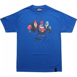 BAIT x SpongeBob Mr Krabs Tee (royal blue)