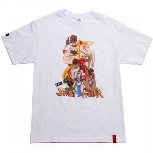 BAIT x Street Fighter Artist Series World Warriors Tee - Kwestone (white)