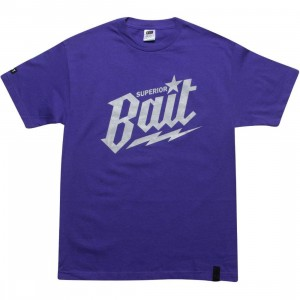 BAIT Superior BAIT Tee - Cool Grey (purple / cool grey)