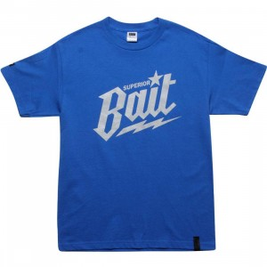 BAIT Superior BAIT Tee - Cool Grey (royal / cool grey)
