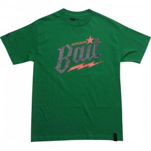 BAIT Superior BAIT Tee (green / black / red)