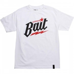 BAIT Superior BAIT Tee (white / black / red)