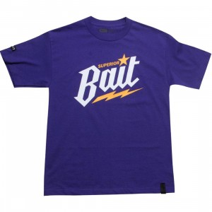 BAIT Superior BAIT Tee (purple / white / yellow)