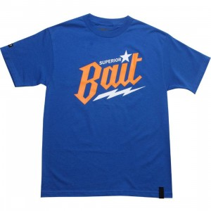 BAIT Superior BAIT Tee (royal blue / orange / white)