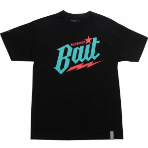 BAIT Superior BAIT Tee - Viridian Burner (black / teal / red)