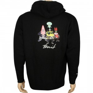 BAIT x SpongeBob Group Zip Hoody (black)