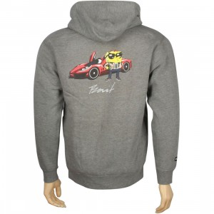 BAIT x SpongeBob SpongeBob SquarePants Zip Hoody (gunmetal heather)