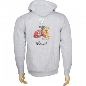 BAIT x SpongeBob Squidward Zip Hoody (grey heather)