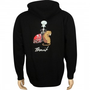 BAIT x SpongeBob Squidward Zip Hoody (black)