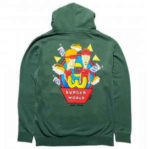BAIT x MTV's Beavis And Butt-Head Men Burger Hoody (green)