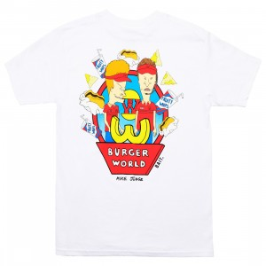 BAIT x MTV's Beavis And Butt-Head Men Burger Tee (white)