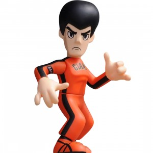 BAIT x Bruce Lee x San Francisco Giants Bruce Lee 4 Inch Figure (orange)