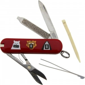 BAIT x Victorinox Swiss Army Classic SD Pocket Knife (red)
