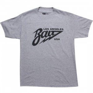 BAIT Los Angeles Tee (heather grey / black)