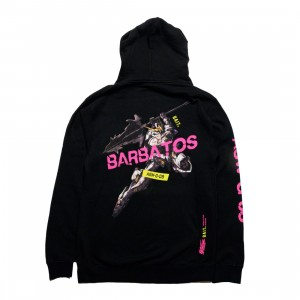 BAIT x Gundam Universe Men Barbatos Hoody (black)
