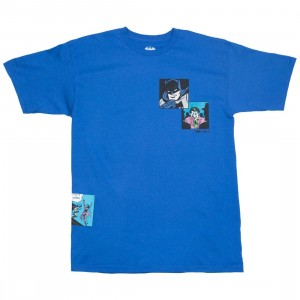 BAIT x Batman Men Fight Scenes Tee (blue / royal)