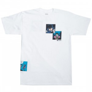 BAIT x Batman Men Fight Scenes Tee (white)