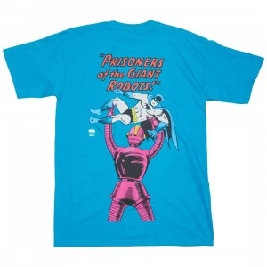 BAIT x Batman Men Giant Robots Tee (blue / turqoise)