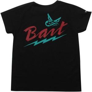 BAIT Womens Attitude Tee - Viridian Burner (black / multi)