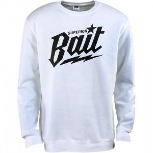 BAIT Superior BAIT Crewneck (white / black)