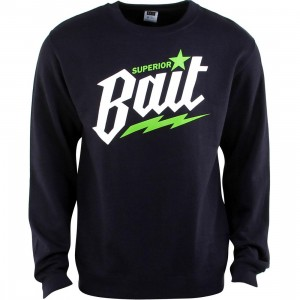 BAIT Superior BAIT Crewneck (navy / white / green)