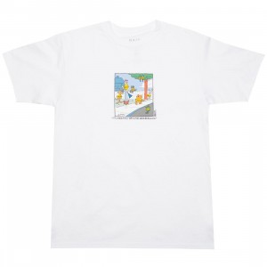 BAIT x Heathcliff Men It's A Beautiful Day Tee (white)