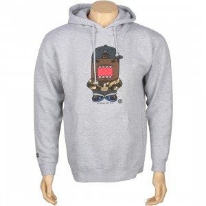 BAIT x Domo Rapper Hoody (grey heather)