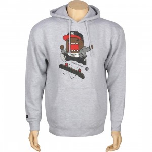 BAIT x Domo Skate Hoody (grey heather)