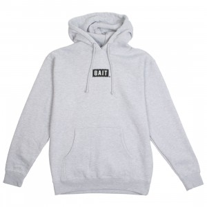 BAIT Men Bite Logo Hoody (gray / heather)