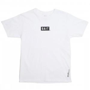 BAIT Men Bite Logo Tee (white)