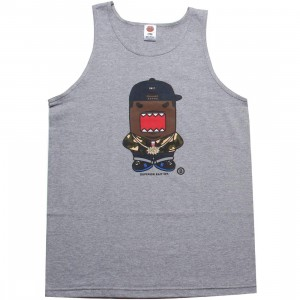 BAIT x DOMO Rapper Tank Top (athletic heather)