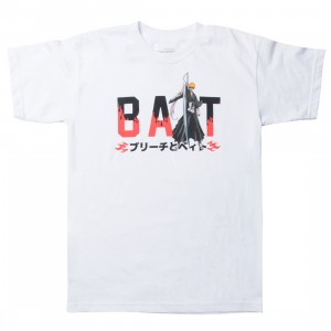 BAIT x Bleach Men BAIT Logo Tee (white)